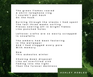 aesthetic, poem, and snow image