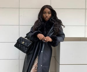 chanel, pretty, and brown skin girl image