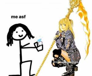death note, meme, and misa amane image