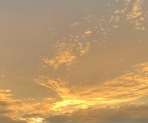 aesthetic, clouds, and dawn image