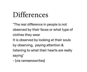 clothes, difference, and feelings image