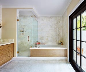 bathroom, salle de bain, and décoration image