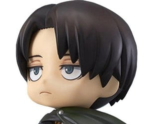 levi, snk, and ackerman image