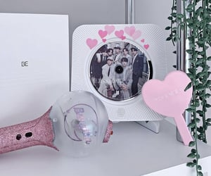 kpop, pink, and shelf image