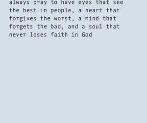 eyes, pray, and feelings image