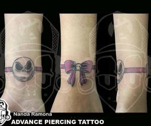 jack skellington, loop, and tattoo image