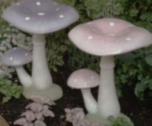 mushroom, aesthetic, and pink image