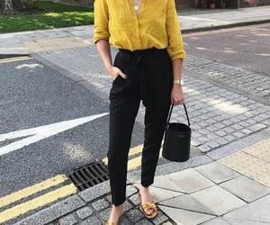 black, blouse, and break image
