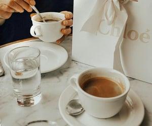 coffee, chloe, and morning image