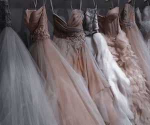 Couture, tulle, and dress image