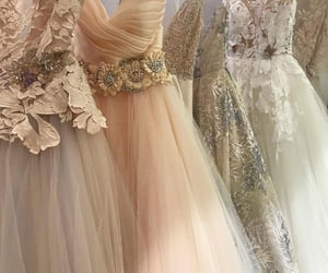 bride, gowns, and princess image