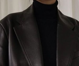 black, blouse, and jacket image