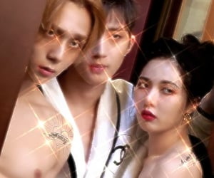 kpop, triple h, and heartthrob image