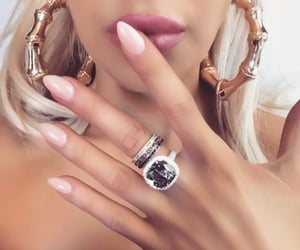 bling, chic, and rings image