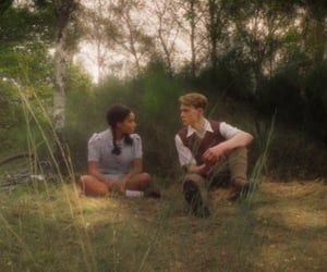 cinematography, george mackay, and amandla stenberg image