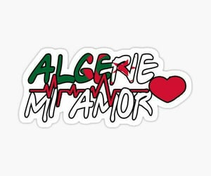 Algeria, amour, and printable image