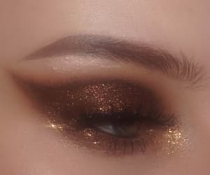 aesthetic, eye, and glam image