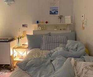 baby blue, bedroom, and indie image