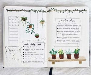 bullet journal, bujo, and journaling image