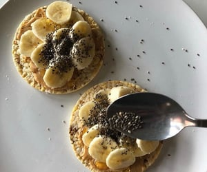 banana, breakfast, and brunch image