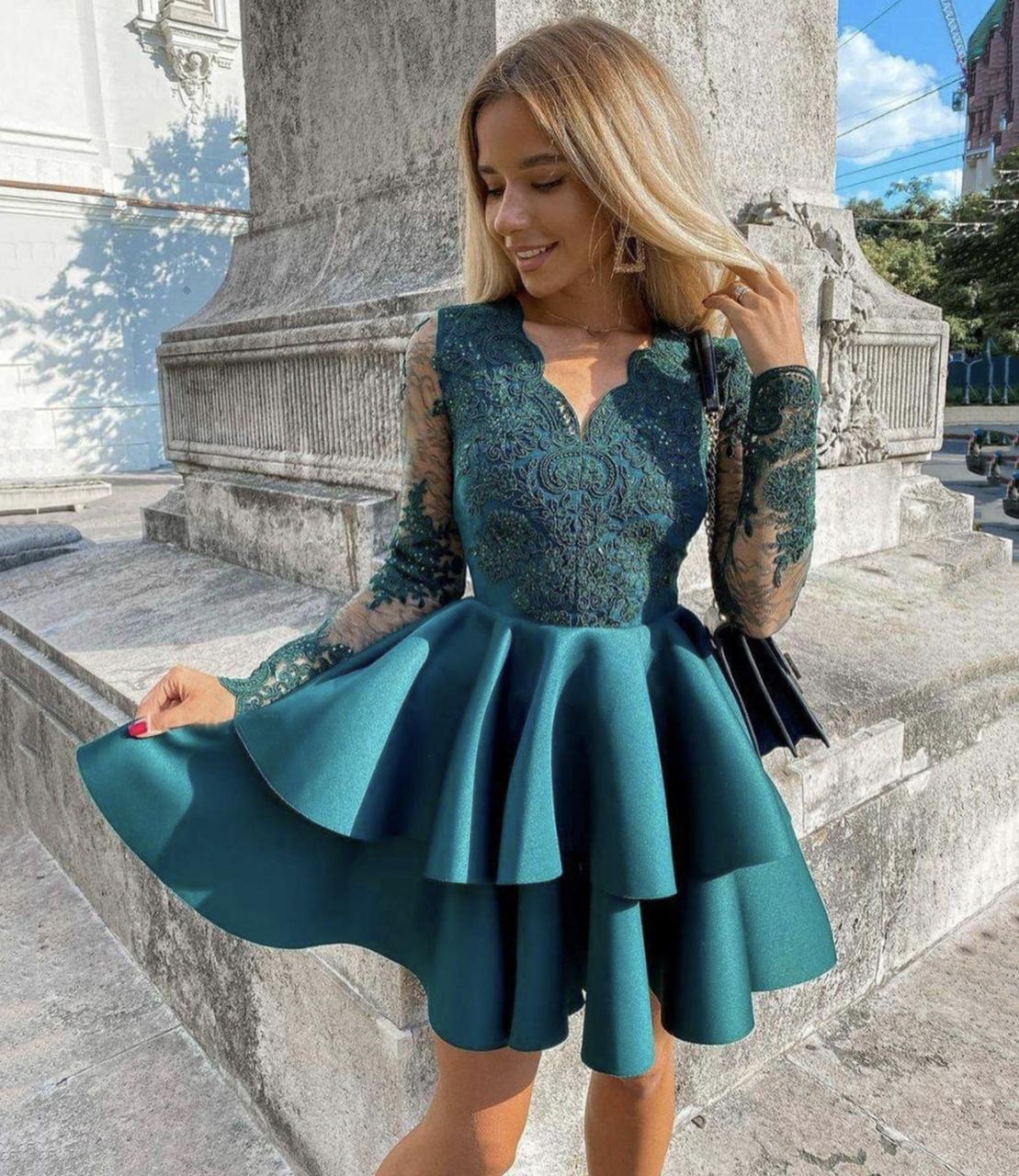 dresses, lace dress, and short dress image