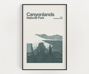 etsy, national geographic, and utah poster image