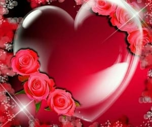 be mine, hearts, and love forever image