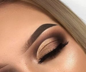 contour, eye, and make up image