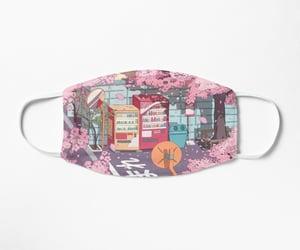 aesthetic, cherry blossom, and manga image