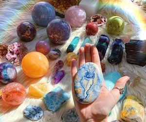 boho, crystals, and spiritual image