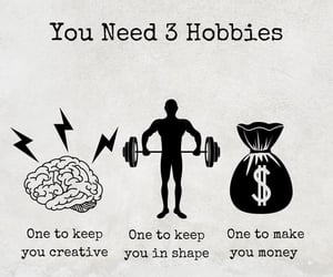 hobby and money image
