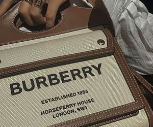 Burberry, bag, and style image
