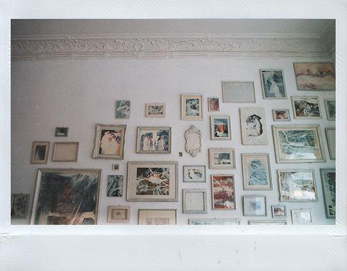 polaroid and frame image