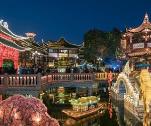china, scenery, and travel image