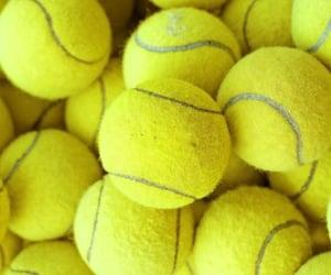 sport, tennis, and tennis balls image