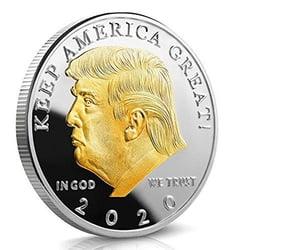 free trump coins image