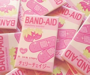 band aid, feed, and kawaii image