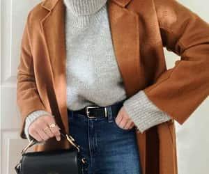 trench jacket, tan jacket, and long jacket image