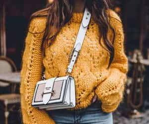 knit, chunky, and neutrals image