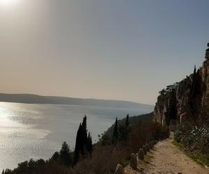 Croatia, hike, and split image