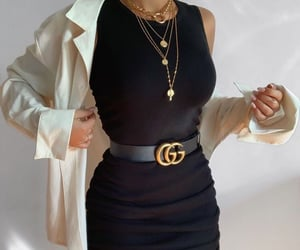 belt, dress, and clothes image