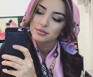 style, make up, and muslim girl image