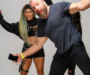 wwe, lacey lane, and triple h image