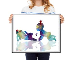 baby animals, etsy, and watercolor image