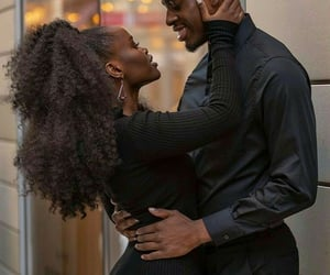 love, Relationship, and black love image