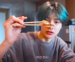 eating, yang jeongin, and boys image