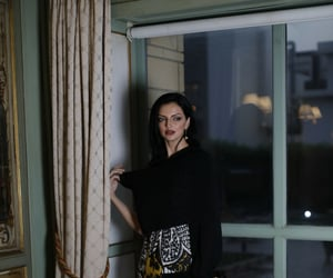 face, fashion, and jeddah image