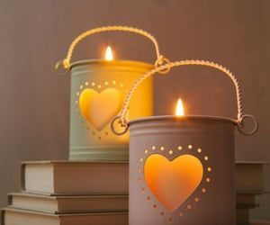 beautiful, books, and candles image