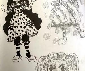art, creepy, and spooky image