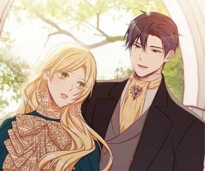 couple, webtoon, and lové image